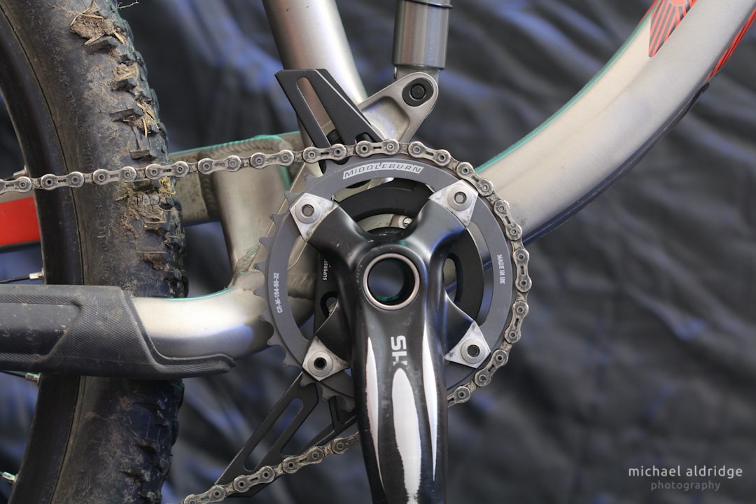 Superstar Chainguide Installation - Chainring fitted