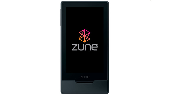 Microsoft Zune music player