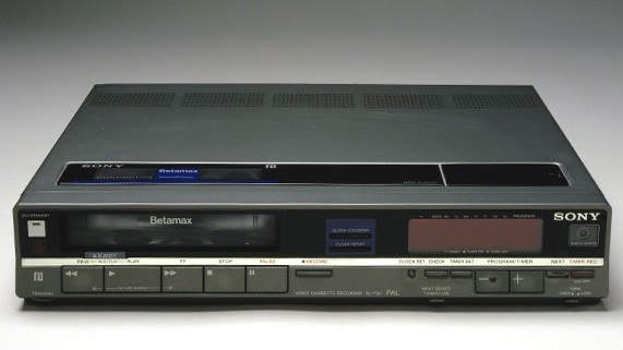 Sony Betamax Player