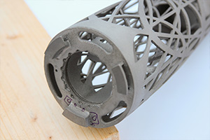 Titanium 3D Printing, the finish straight from the printer