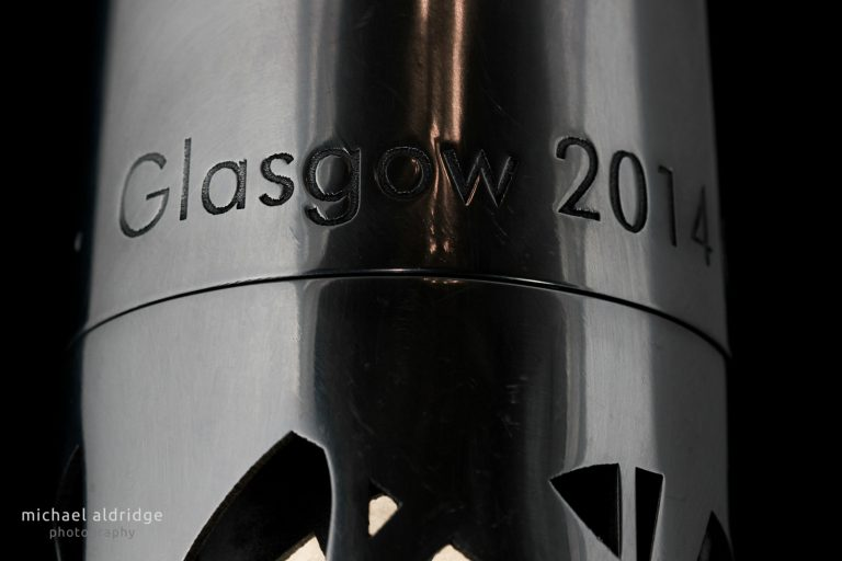 Queen's Baton close up for Glasgow 2014 Commonwealth Games