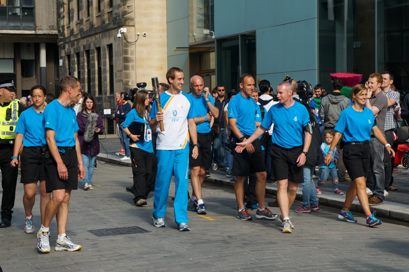 Baton Bearer for Glasgow 2014