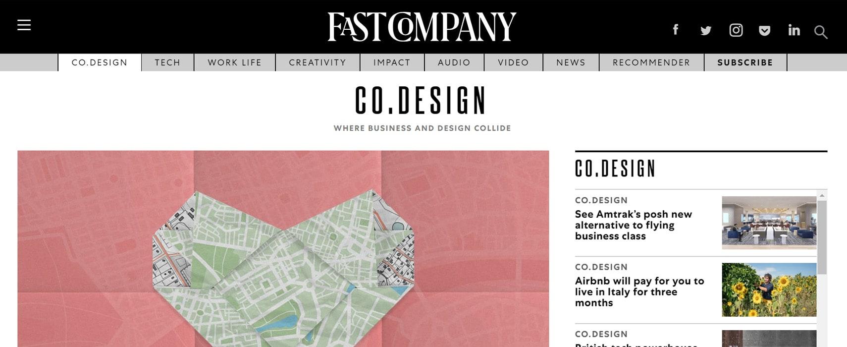 Fast Company Design Blog