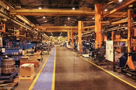 Terex Motherwell Factory Floor