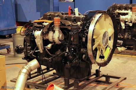 Terex Engine