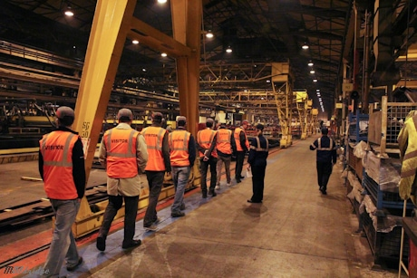 Terex Motherwell Factory Tour
