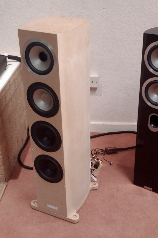 Tannoy Speaker Acoustic Test Prototype