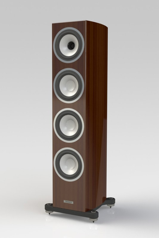 Early Tannoy Precision Concept Render