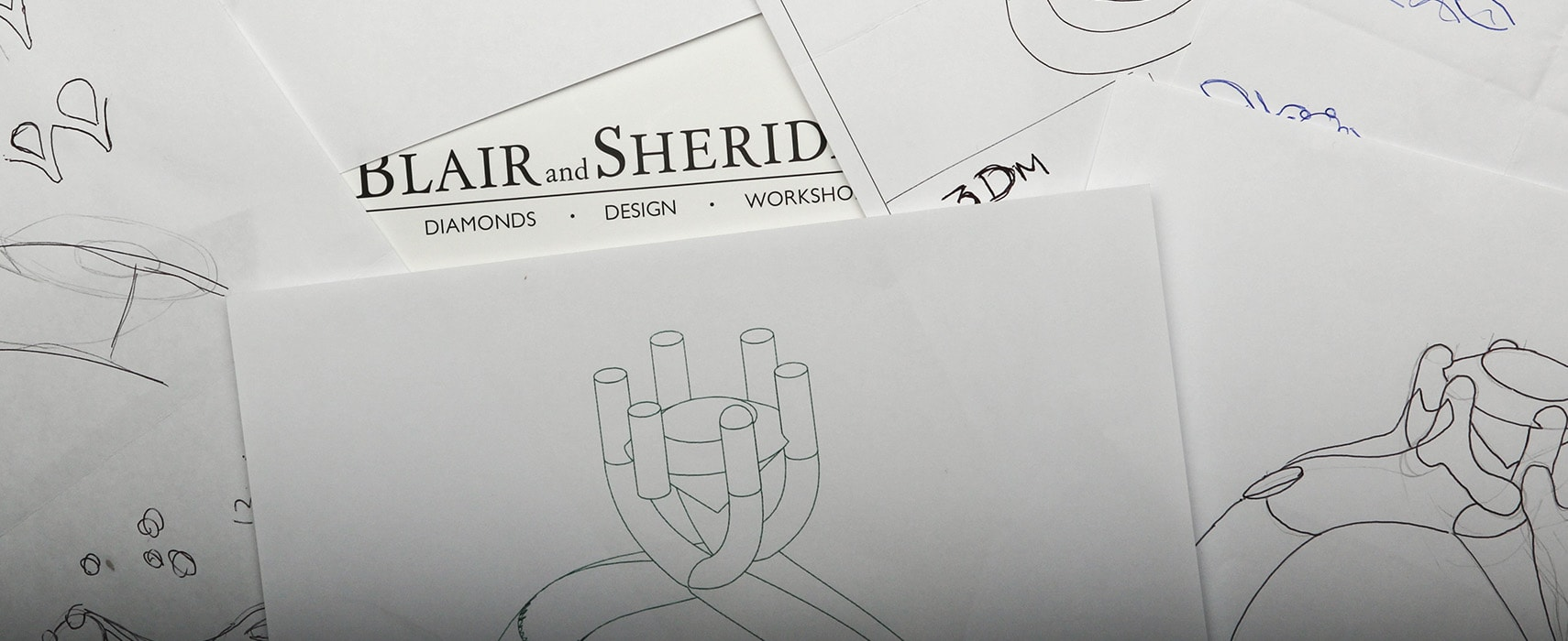 Ring Design Concept Sketches