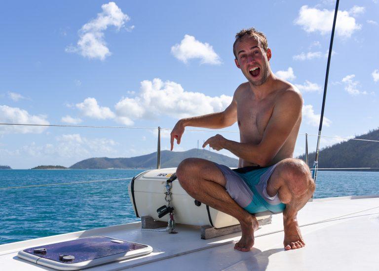 RFD Survitec Liferaft Case on Yacht